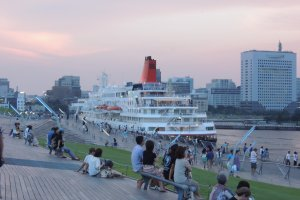 Passenger ship at Osanbashi