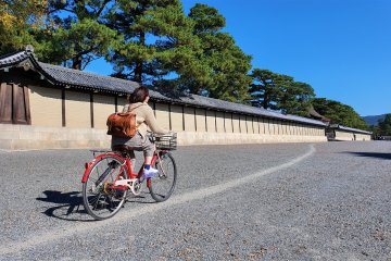 Cycling by the Waterways of Kyoto