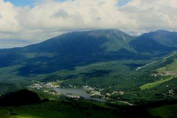 쿠루마야마 고원 스키장의 여름