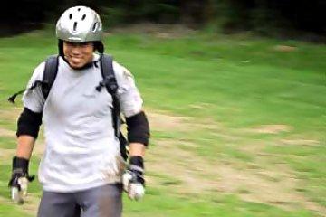 4-wheeled mountainboarder