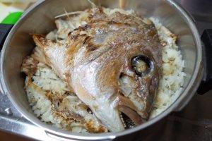 Tai-meshi, sea bream mixed with rice