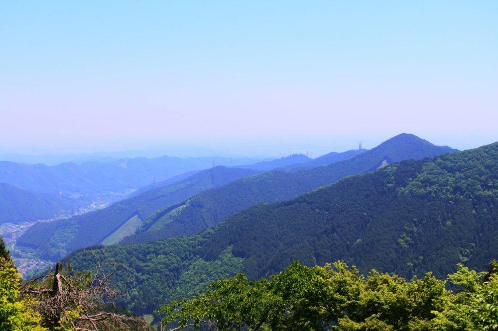 御岳山の眺め