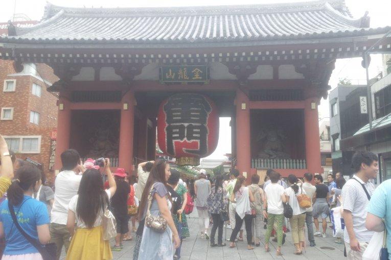 도쿄내 가장 오래된 사찰, 센소지