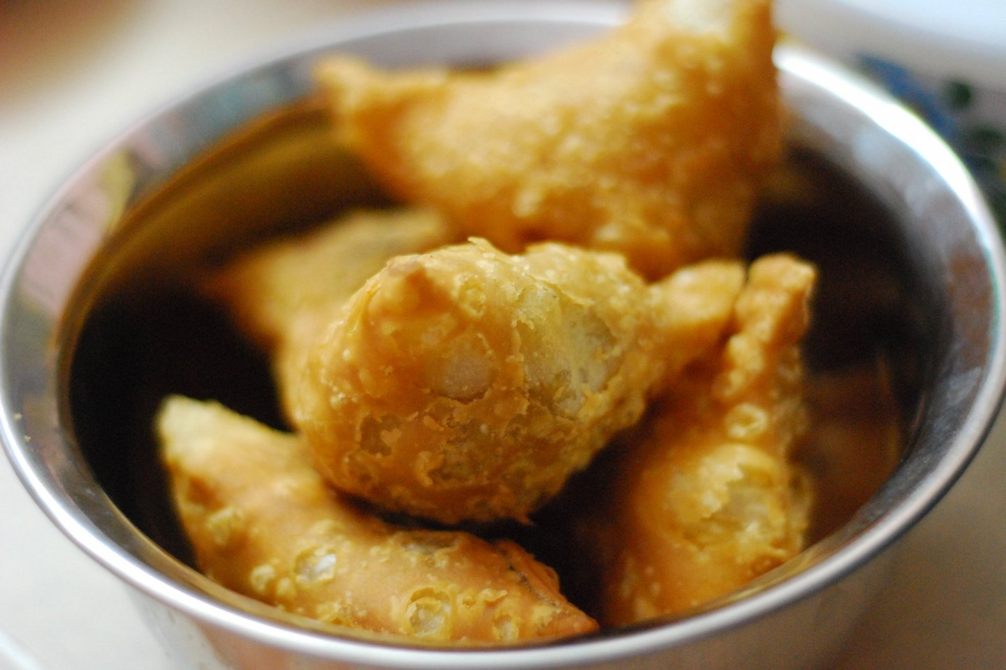 Samosa wheat dumplings