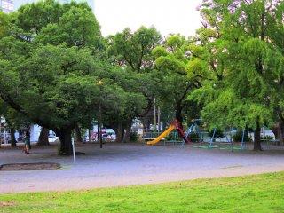 八幡山公園の様子 2