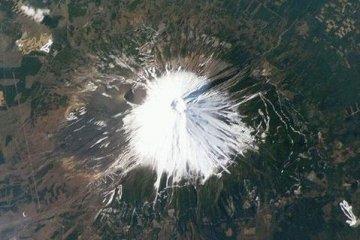 美国NASA的富士山