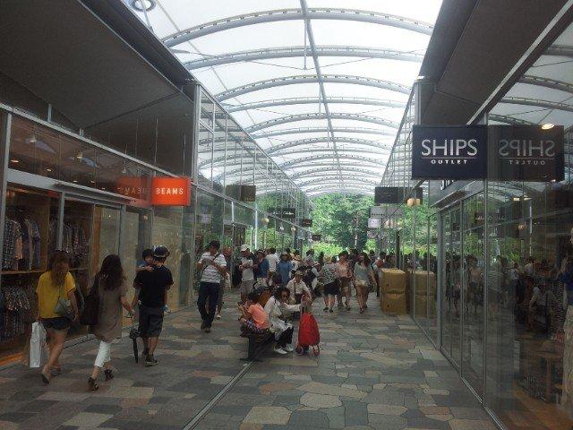 Shoppers' paradise