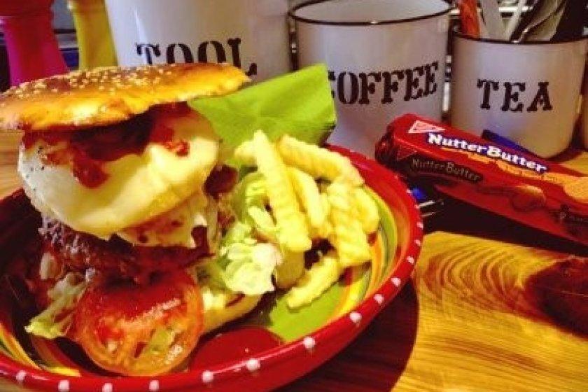 Grassy\'s Mega Burger
