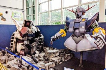 Destroyed Gundam head
