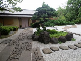 The zen garden by Genshinan can be accessed by the public