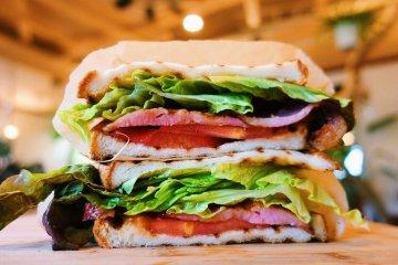 The BLT sandwich is a menu favorite