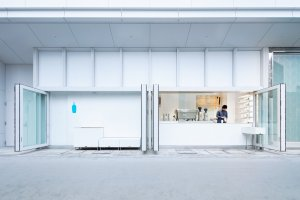 Yokohama Blue Bottle Cafe Stand