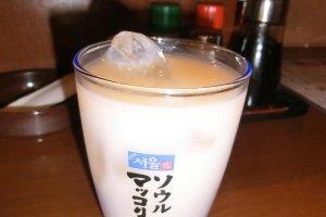 Makkori, an alcoholic milky drink