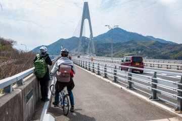 Cycling in Onomichi