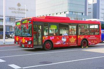 All aboard the Meipuru-pu sightseeing loop bus