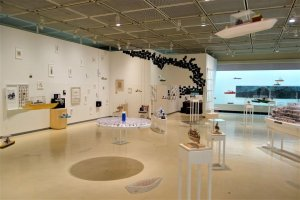The museum covers Tottori's nature, history, folklore, and culture
