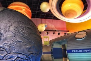 There are a wide array of displays at the Niigata Science Museum