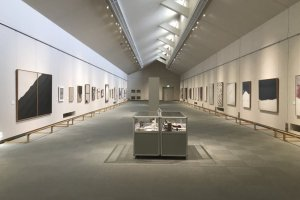 The Tomioka White Museum is a perfect fit for snow country