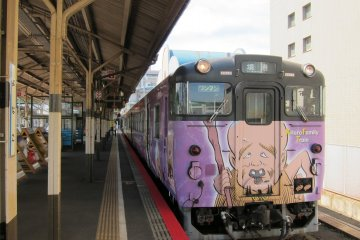 One of the GeGeGe no Kitaro trains