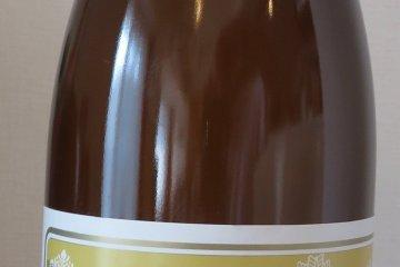 Bottle of Usui Katsusaburo Shoten Sake