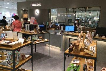 Hacoa store at the Tokyu Plaza Shibuya