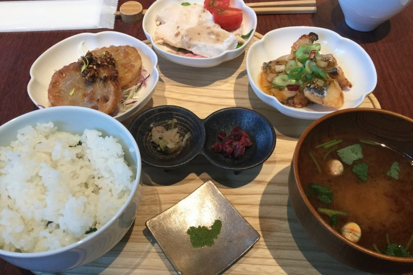 Traditional Kyoto cuisine