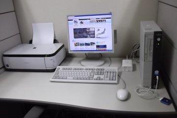 <p>เข้าเว็บ&nbsp;JapanTravel หรือชาร์จไอพอดของคุณได้ที่ศูนย์ธุรกิจ</p>