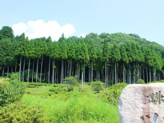 Can you imagine, a young Musashi walking around his village? Here, you can see what he used to see.