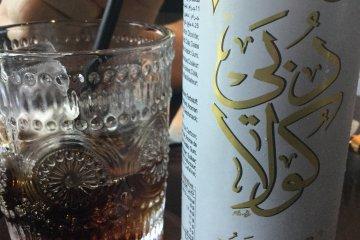 Dubai cola made with dates and honey