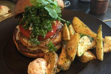 Arabian burger