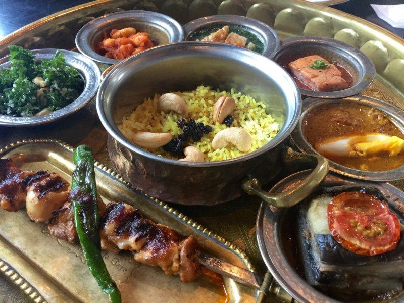 Carvaan's Arabian lunch set