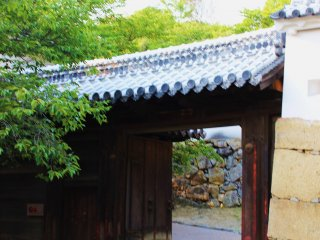 I wouldn't want to storm through the many gates and doors of Himeji Castle