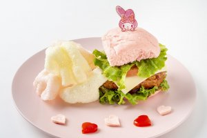 Heartful Burger - 1500 yen