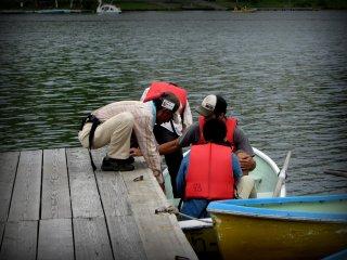 Những người cho thuê thuyền rất tốt bụng và tử tế