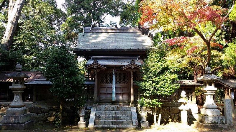 Honden, or main hall, of Kanii Shrine