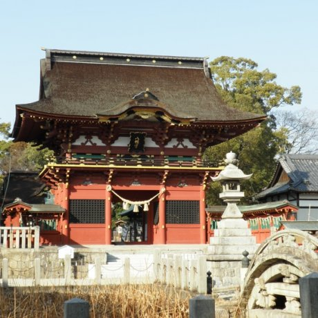 Okazaki's Shrine to the God Of War