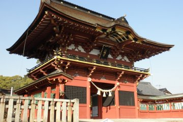 Enjoy the Japanese architecture and the history too!