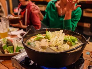 The Chankonabe hotpot is the signature dish of Ryougoku, and one of the best hot pots I've experienced in Japan