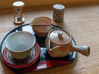 お茶の種類によってお湯の温度を変える