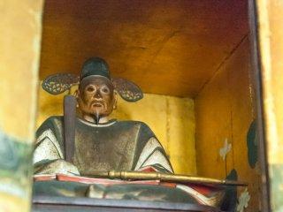 太閤秀吉の肉付木像