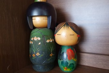 The first ones I bought for myself at a shrine sale