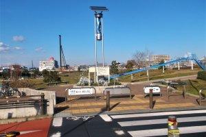 Higashi Tateishi Ryokuchi Park (filter applied)