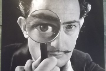 Dali will watch over you in the cafe