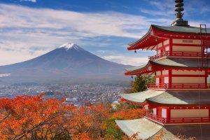 Fuji is gorgeous year-round