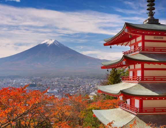 5 Spots to Get a View of Mount Fuji
