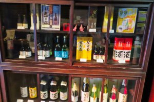 Various types of Sake