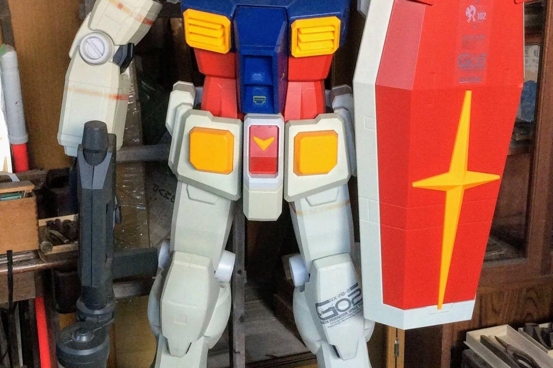 Life size Gunpla Gundam