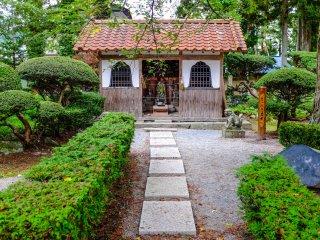 Đền Jokenji là một ngôi chùa phật giáo 1490 Soto Zen