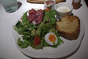 My lunch at La Maison Ensoleille