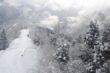 ทิวทัศน์ฤดูหนาวในยูซาว่า